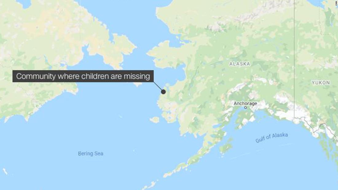 4 παιδιά λείπουν στην Αλάσκα blizzard μετά από να πάει έξω σε ένα χιόνι-μηχανή βόλτα