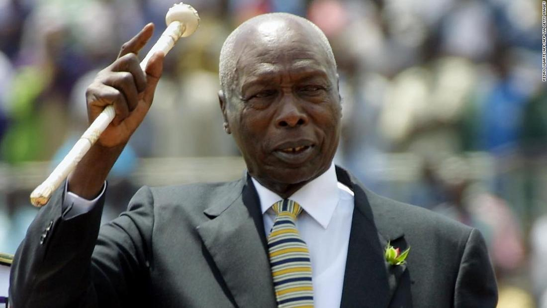 Kenia ist der dienstälteste Präsident Daniel Arap Moi stirbt