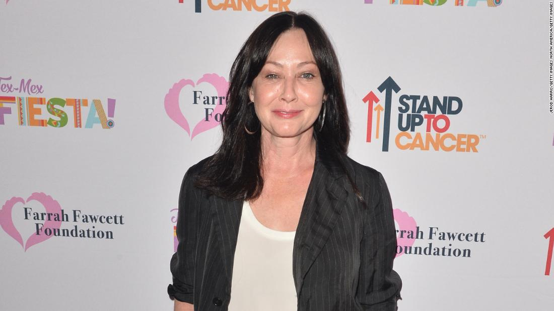Shannen Doherty shares update on cancer battle