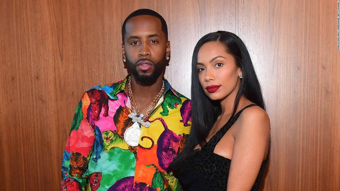 Safaree and Erica Mena of 'Love & Hip Hop: New York' welcome a daughter