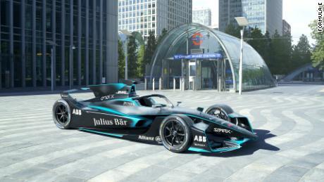 Formula E reveals new car design with shark-like fin