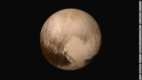 When Pluto's frozen heart beats, it creates wind