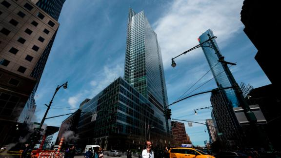 The headquarters of Goldman Sachs is pictured on April 17, 2019 in New York City. (Photo credit should read JOHANNES EISELE/AFP via Getty Images)