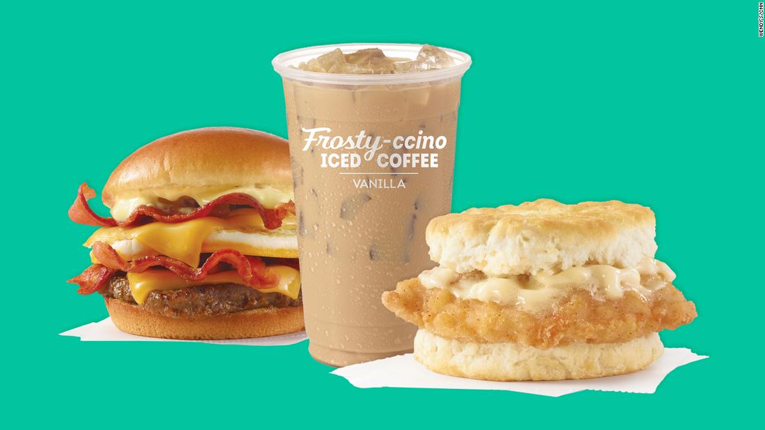 Wendy ' s Frühstück beginnen, roll-out
