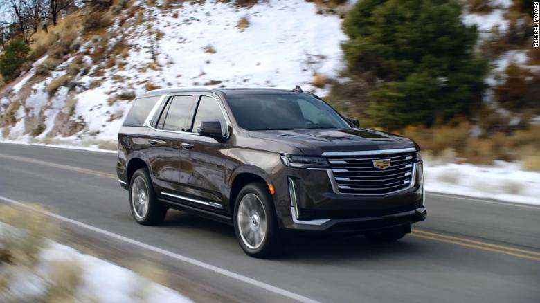 The new Cadillac Escalade can drive itself - CNN