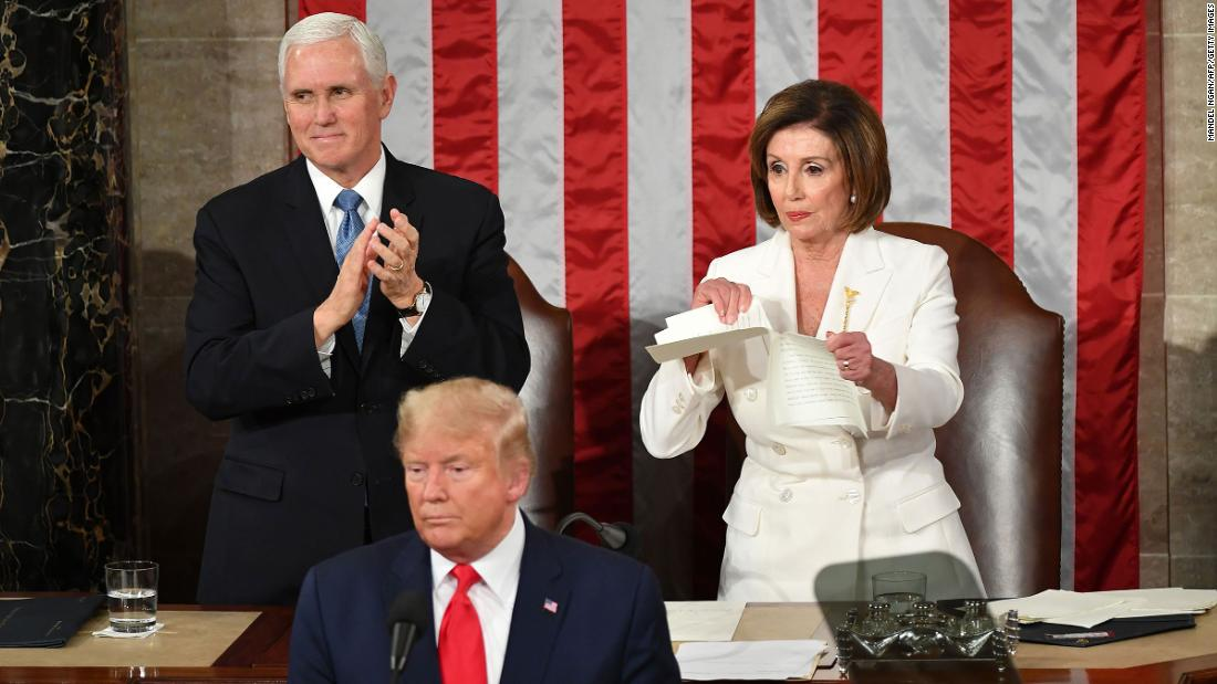 Author explains backstory of iconic Pelosi-Trump moment