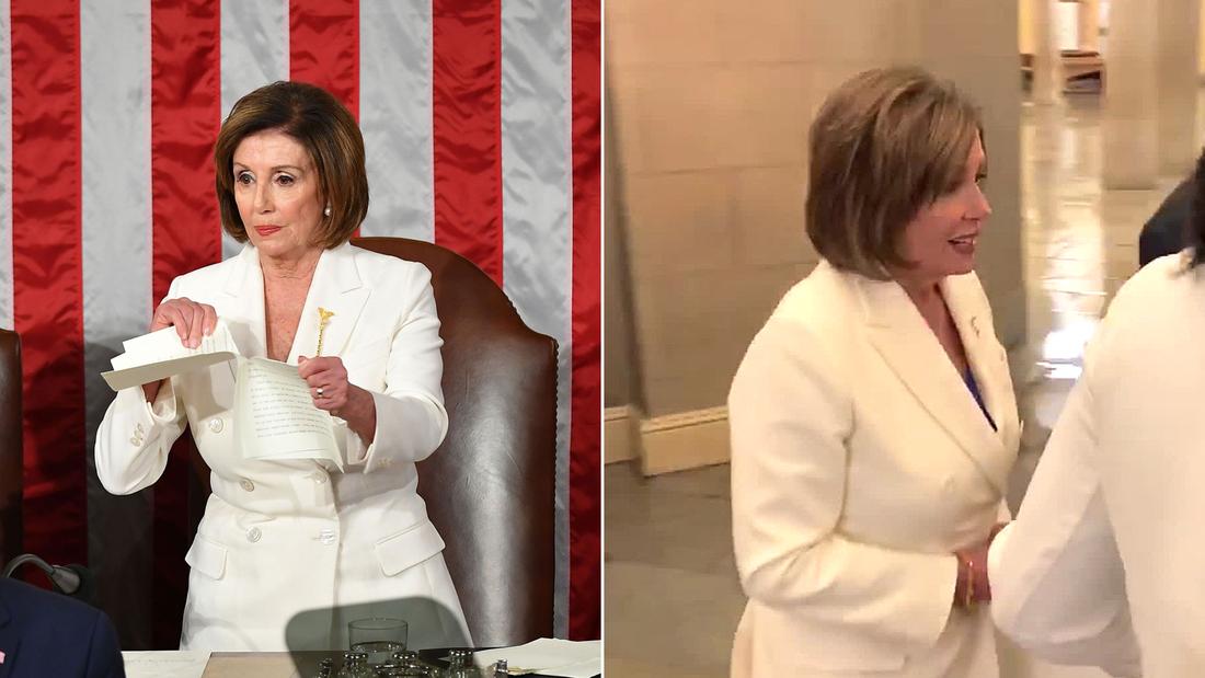 Pelosi: Explains why she ripped copy of Trump's speech