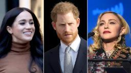 Madonna a une offre pour Meghan Markle et le prince Harry