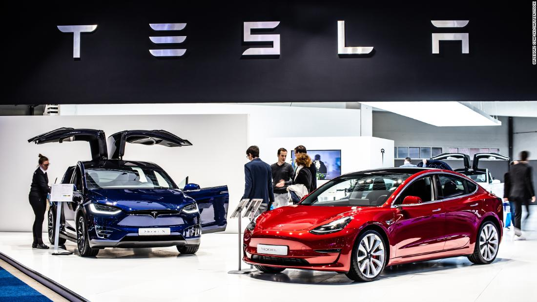 Tesla on top as UK car sales crash to lowest level since 1946