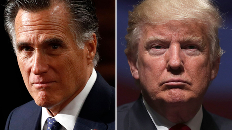 Image result for romey + trump