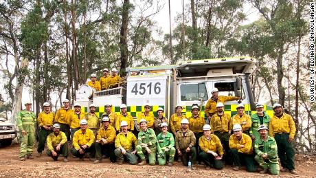 Twenty firefighters from California spent a month in Australia working with the Victoria Rural Fire Service.
