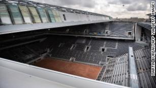 French Open Welcomes New Roof On Philippe Chatrier Court Cnn