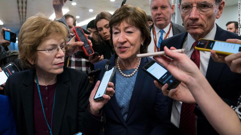 Watch what Maine voters are saying about Susan Collins