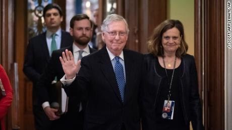 Quick acquittal: How Mitch McConnell orchestrated the end to Trump's impeachment trial in 15 days