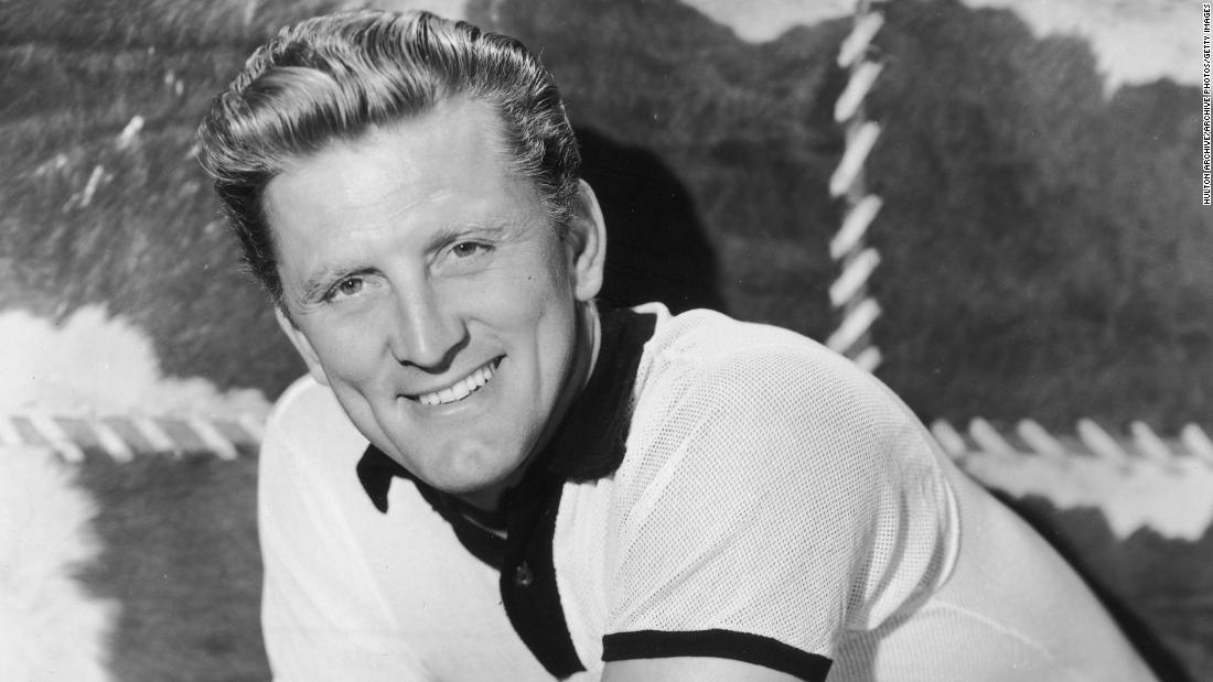 Kirk Douglas, acclaimed actor, dead at 103