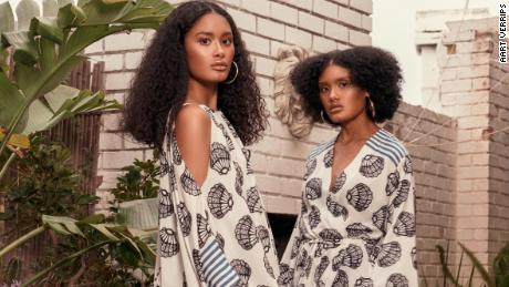 The Joal print is named after an iconic coastal town in Senegal called Joal Fadiouth.