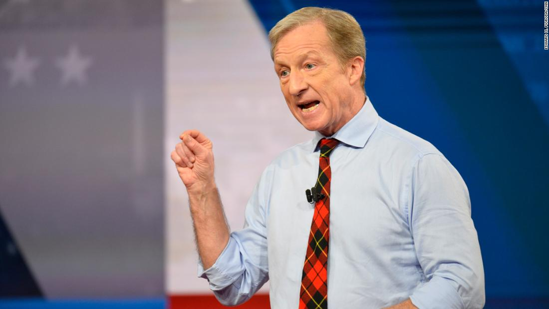 Steyer knocks Buttigieg as he explains poor showing in Iowa