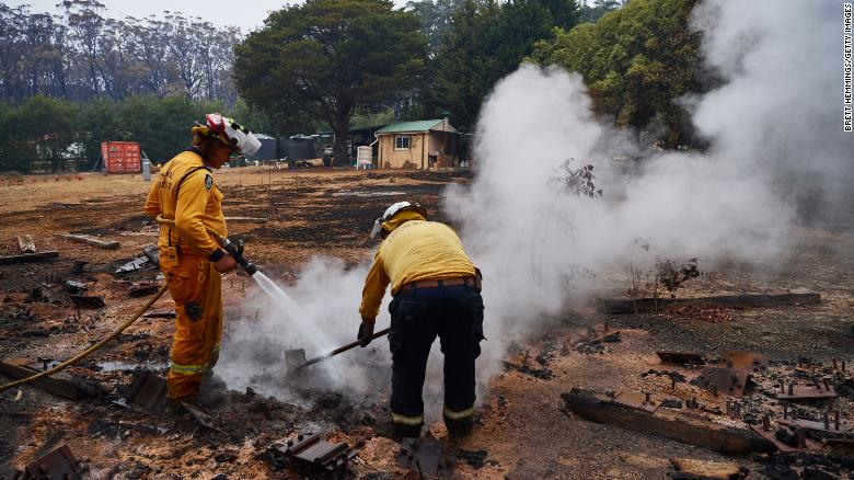 Firefighters in Australia have been battling the bushfires for months.