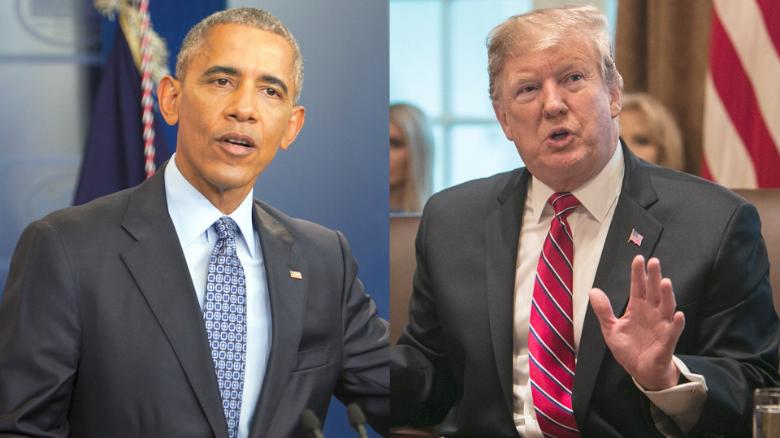 Image result for images of strong economy: Trump vs Obama