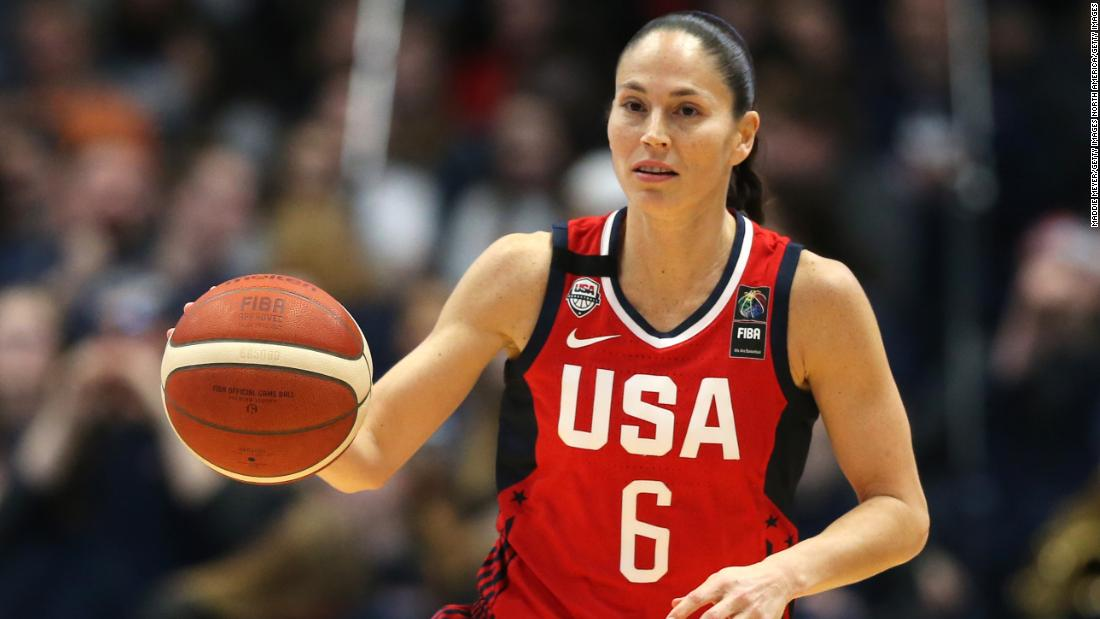 """""""Women's soccer players generally are cute little White girls while WNBA players, we are all shapes and sizes ... a lot of Black, gay, tall women ... there is maybe an intimidation factor and people are quick to judge it and put it down,"""" Sue Bird said"""
