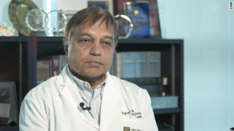 Malik Peiris, a public health virologist at the University of Hong Kong and WHO adviser.