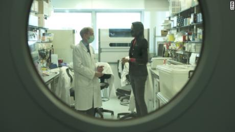 John Nicholls, clinical professor of pathology at the University of Hong Kong with CNN's Kristie Lu Stout.