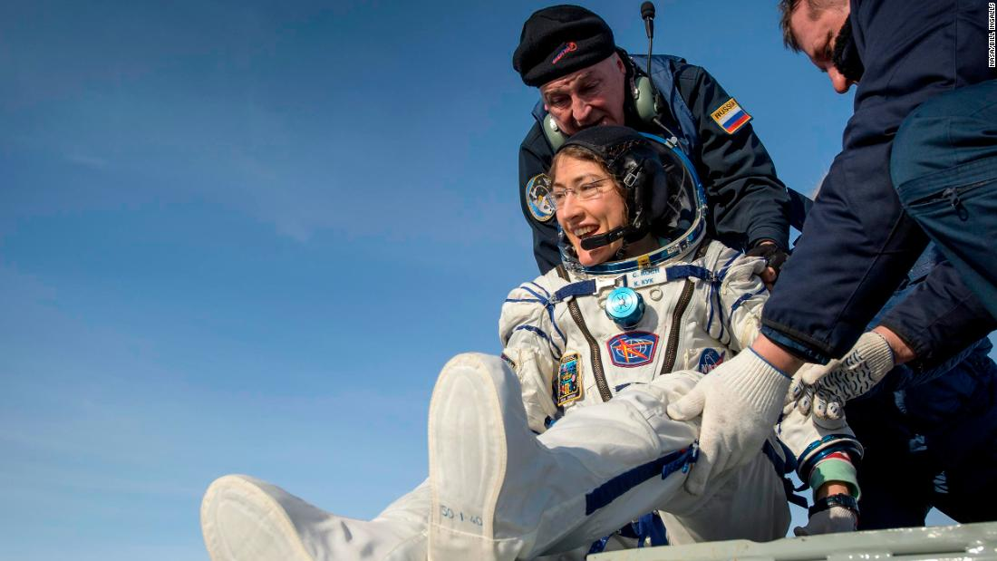 Astronaut Christina Koch reflects on her record-breaking mission: 'Do what scares you' thumbnail