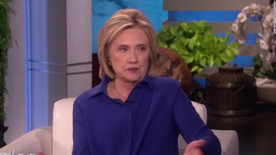 Hillary Clinton eröffnet über Ihre Ehe auf 'Ellen'
