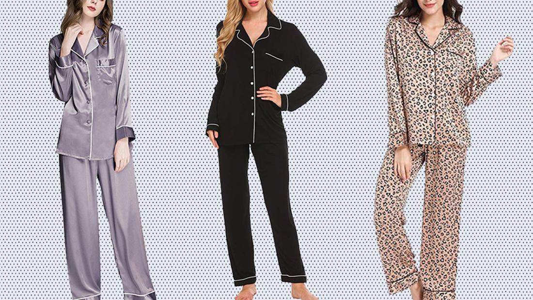 Summer Women Spaghetti Straps Pyjama Slip V-neck Wrap Cotton Lounge Mini Dress
