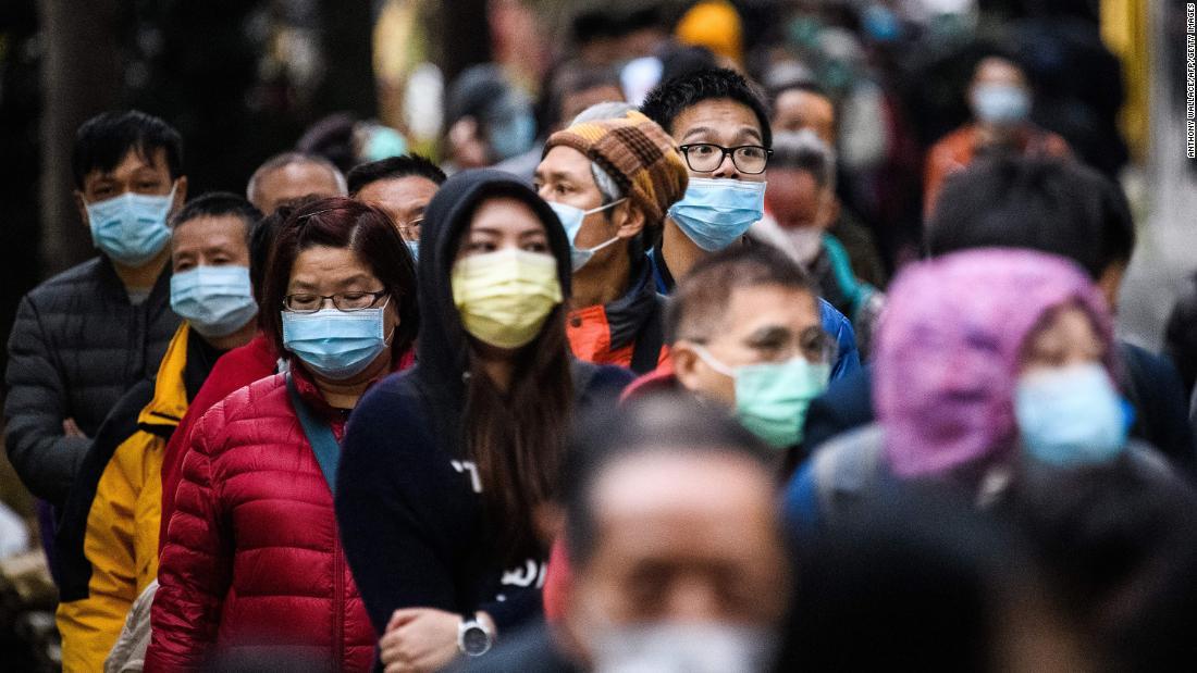 China hat tödlichsten coronavirus Tag, während UNS kündigt amerikanischen death