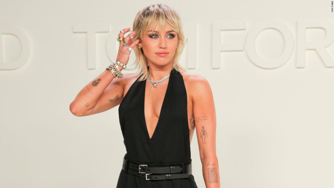 Miley Cyrus 'fell off' during the pandemic -- but is now two weeks sober