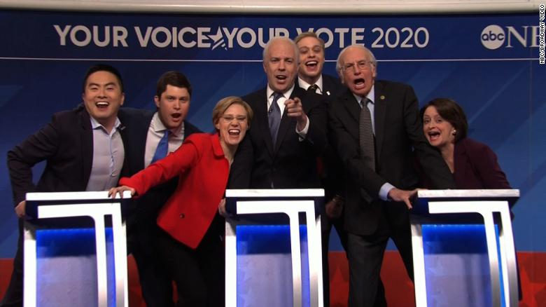 Saturday Night Live Likens Democratic Presidential Candidates To