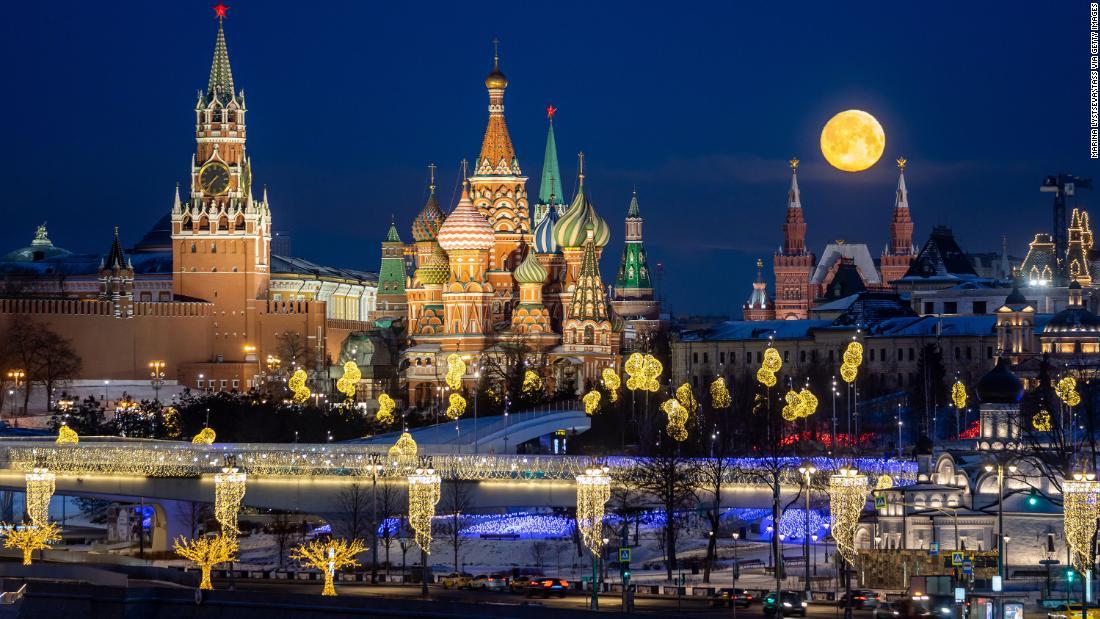 Full moon photos: February's Snow Moon lights up the sky - CNN