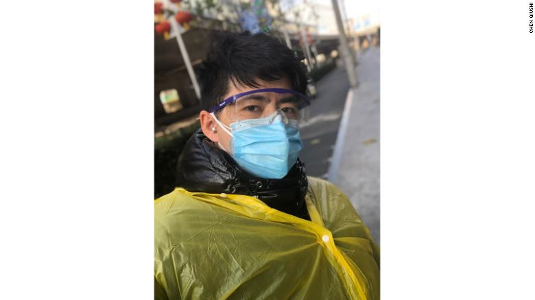 Chen Qiushi, a citizen journalist who had been reporting on the coronavirus outbreak in Wuhan, could no longer be reached by friends and family since Thursday.