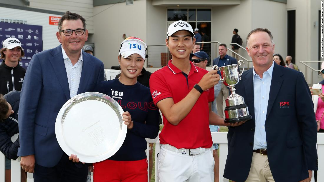 Australian golf event showcases equal pay drive