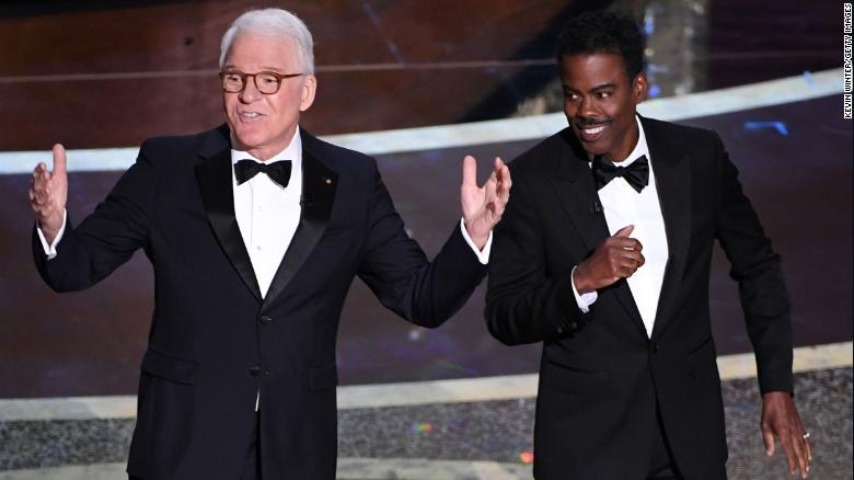 Steve Martin and Chris Rock (Photo by Kevin Winter/Getty Images)