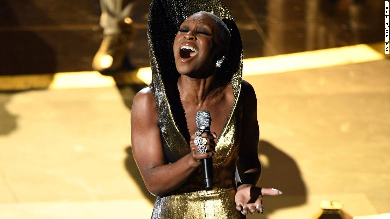 Cynthia Erivo performs onstage during the 92nd Annual Academy Awards.
