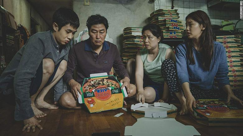 """<strong>Best picture and best international feature film:</strong> """"Parasite"""""""
