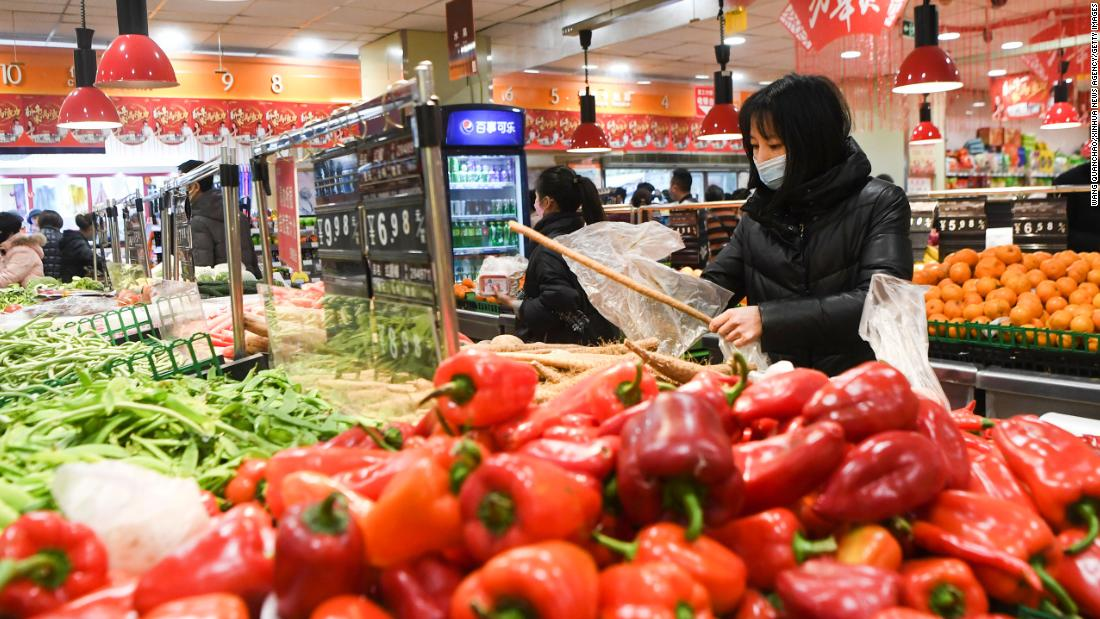 食料価格の高騰中国