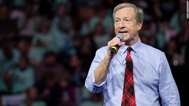 How Tom Steyer's spending spree could reshape the South Carolina primary