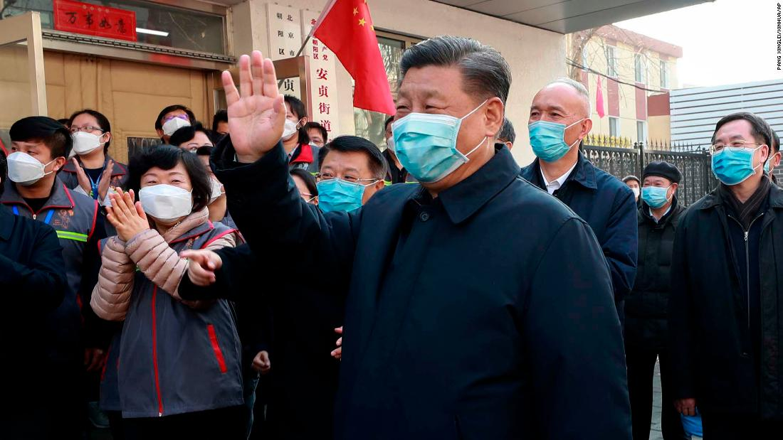 Xi Jinping's reemergence shows how China is controlling the coronavirus narrative