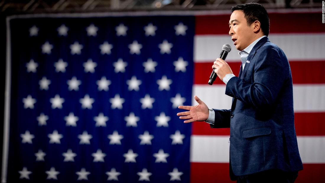 Current Status: Andrew Yang joins CNN as a political commentator