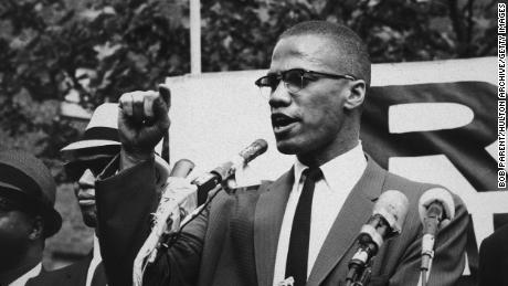 American civil rights leader Malcolm X was assassinated in 1965.