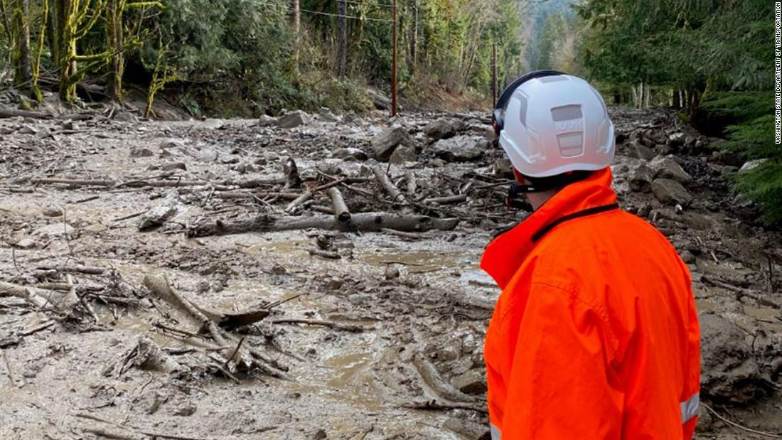 Mount Rainier National Park closed indefinitely as mudslides and flooding turn roads into riverbeds