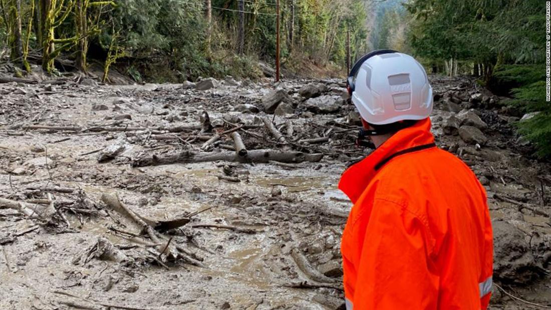 Mount Rainier National Park ist auf unbestimmte Zeit geschlossen wegen Schlammlawinen und überschwemmungen