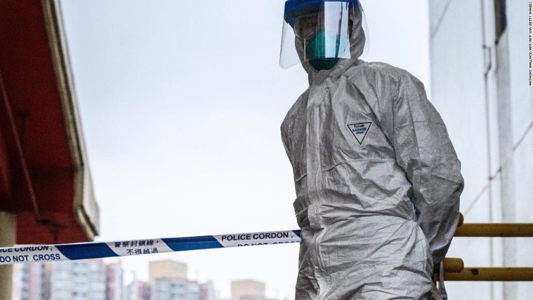 Coronavirus tötet als 1.100 weltweit
