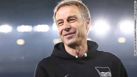 Jurgen Klinsmann has taken Hertha BSC to six points above relegation spots.