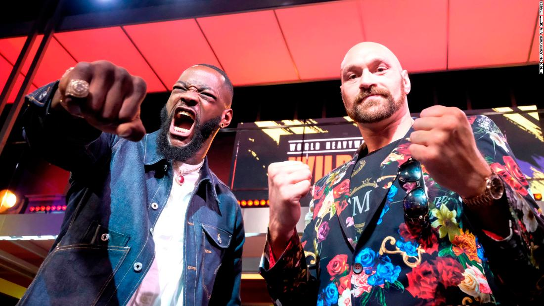 'I'm going to rip his heart out and feed it to him' -- Tyson Fury ahead of rematch with Deontay Wilder