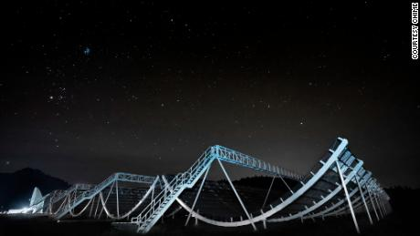 The CHIME telescope array in Canada is helping to find hundreds of fast radio bursts.