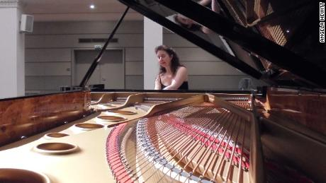 "The pianist said it was a ""shock"" to lose the instrument, which was her ""best friend."""